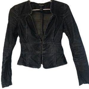 Dollhouse corduroy cropped jacket size medium